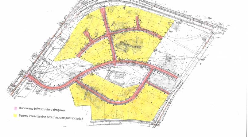 Rozbudowa Toruńskiego Parku Technologicznego dotycząca budowy infrastruktury na nieruchomości gruntowej położonej w Toruniu przy ul. Andersa